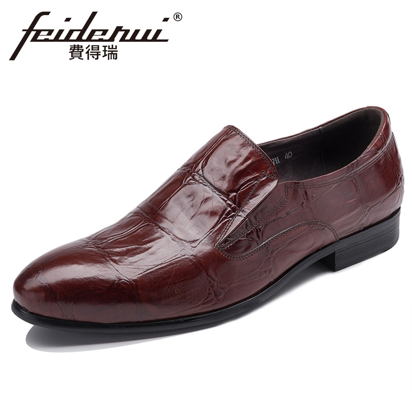 2018 New Arrival Genuine Leather Mens Loafers Pointed Toe Slip on Handmade Man Footwear Fashion Comfortable Casual Shoes YMX532 pl us size 38 47 handmade genuine leather mens shoes casual men loafers fashion breathable driving shoes slip on moccasins