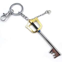 OHCOMICS Kingdom Hearts Сора ключ стиль Keyblade золото металл Paopu Фрукты Костюм с оружием Подвески Брелок для ключей брелок «Жираф с мехом» подарок