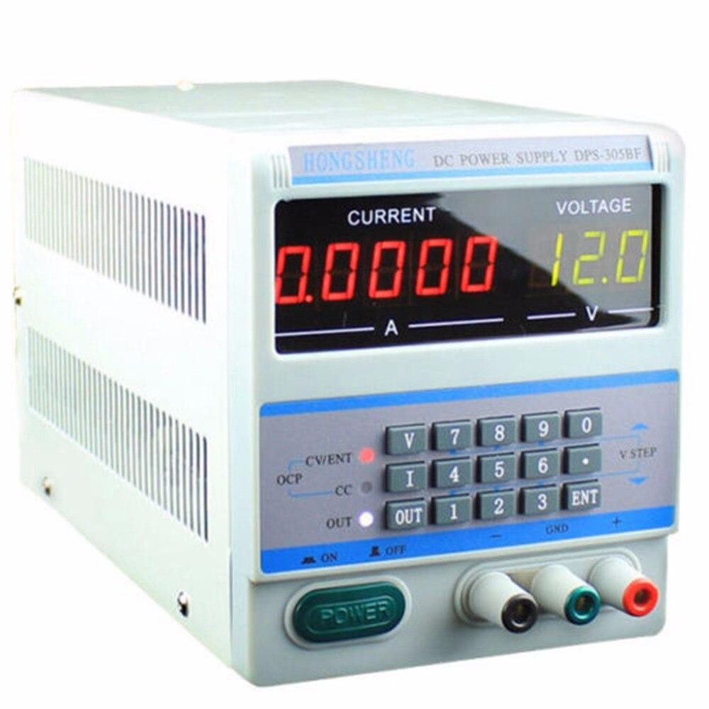 цена на Laptop Repair DPS-305BM 220V / 110V 4Ps Display Digital Control 30V 5A DC Voltage Regulated Power Supply