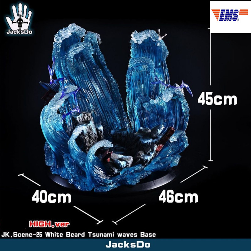 Presale ONE PIECE Whitebeard Edward Newgate Tsunami Platform Accessory Resin Statue Model Toy (Delivery Period: 60 Days) X378Presale ONE PIECE Whitebeard Edward Newgate Tsunami Platform Accessory Resin Statue Model Toy (Delivery Period: 60 Days) X378