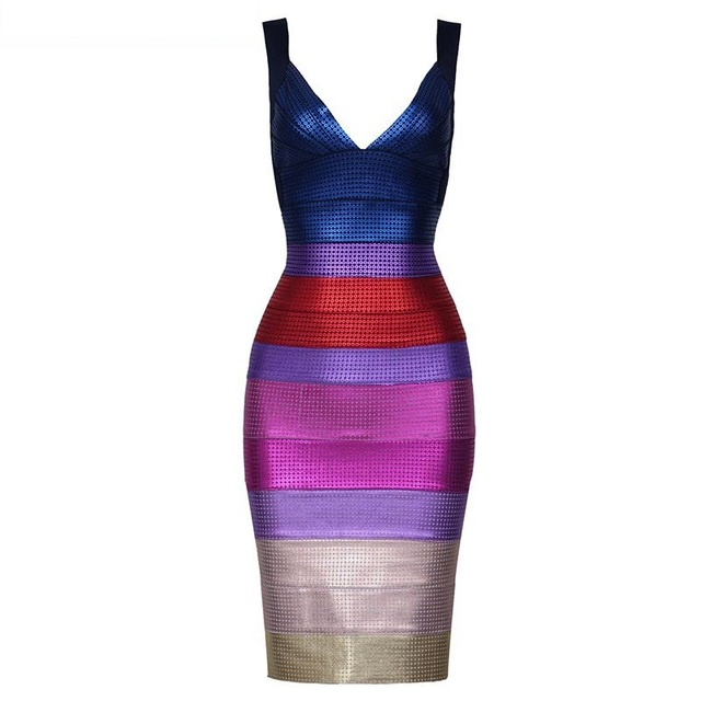ae087a6889e off shoulder sexy backless summer dress 2018 bandage gradient color blue  purple sleeveless foil print cocktail party dresses