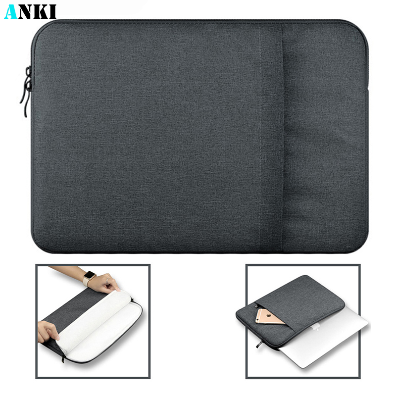 Nylon Laptop Sleeve Notebook Bag Pouch Case for Macbook Air 11 13 12 15 Pro 13.3 15.4 Retina Unisex Liner Sleeve for Xiaomi Air  1