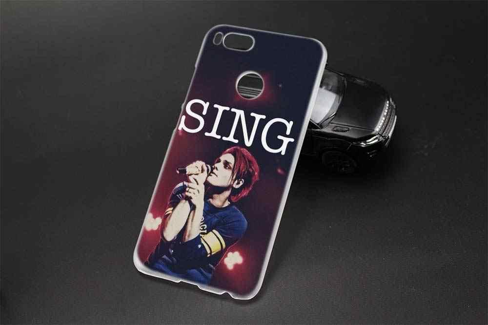 Sheli My Chemical Romance Hard case telefone para Xiaomi redmi note 4x 5X A1 5A 5 pró redmi 4x 4a 5a 5 mais 6a 6pro 9 8 Note7