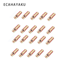 ECAHAYAKU 20pcs Wholesale T10 canbus led 24led smd t10 Led Canbus Car Smd Light w5w 194 24smd Bulb No Error