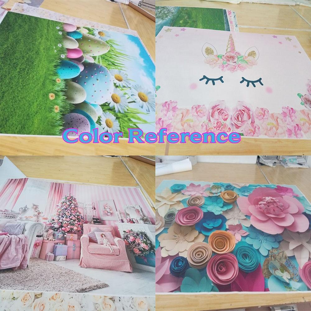 Laeacco flor pintura al óleo pared madera suelo retrato fotografía - Cámara y foto - foto 5