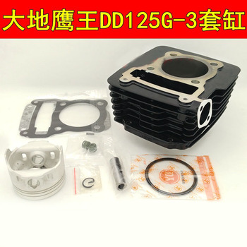 Motorcycle Cylinder Kits With Piston And Pin for DD125 DD125G-3