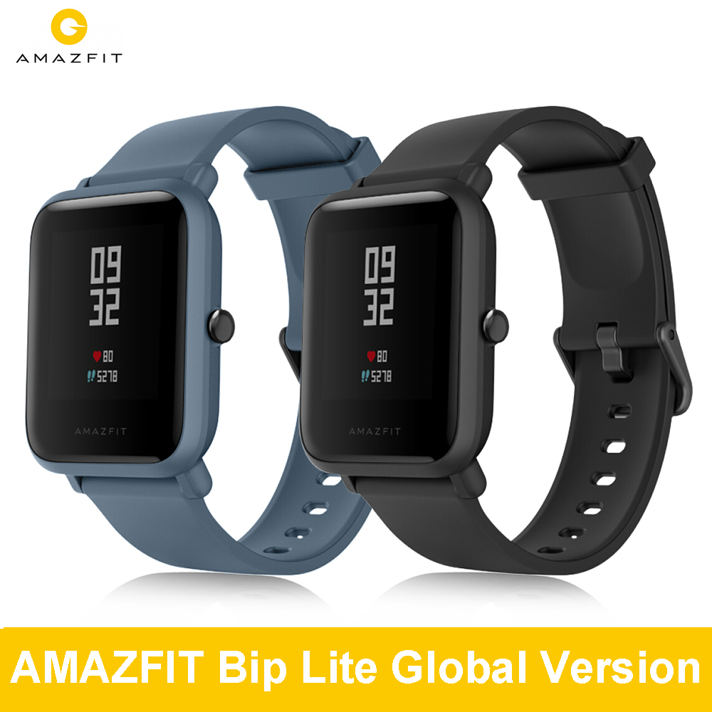 AMAZFIT Payment Smart-Watch Bip-Lite Working Sport-Modes for 45-Days 3ATM Waterproof