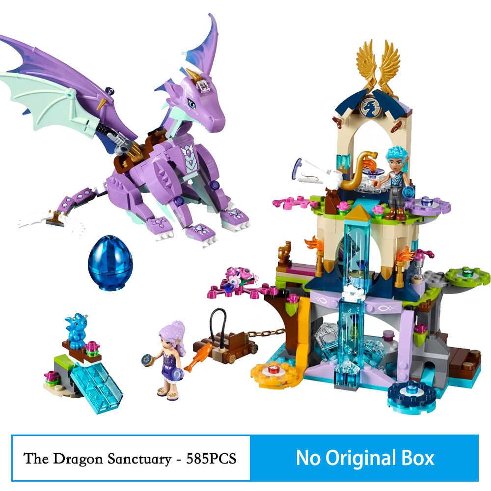 318Pcs BELA 10413 Fit Elves 41077 Aira's Pegasus Sleigh ชุดตัวเลข DIY Building Blocks ของเล่นสำหรับเด็กคริสต์มาสของขวัญ