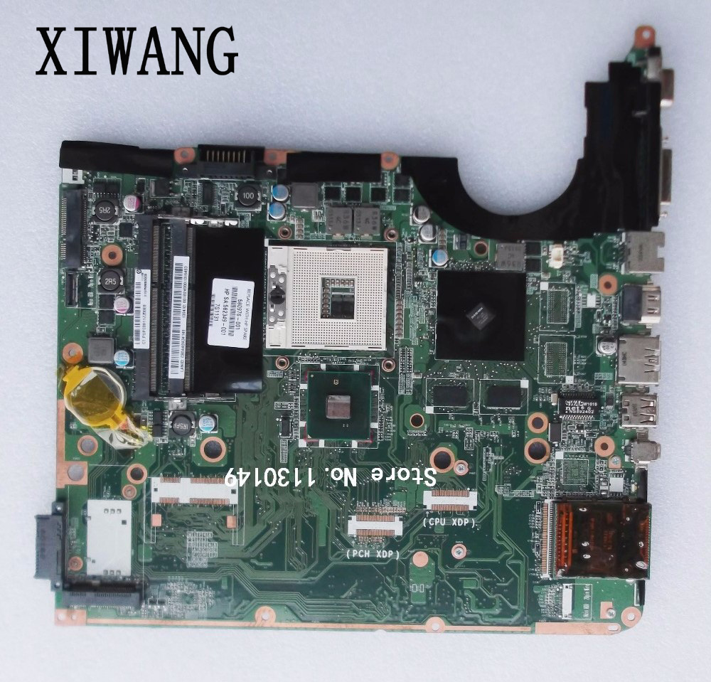 Free Shipping 580976-001 Laptop motherboard For hp pavilion DV6 DV6T motherboard DDR3 DA0UP6MB6F0 working Perfect free shipping original laptop motherboard for hp cq510 cq610 538409 001 965gm ddr3 100