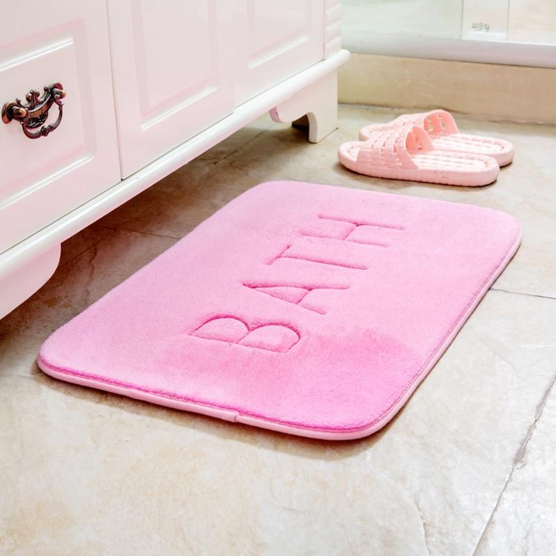 Thick bedroom door mats non-slip mats kitchen bathroom toilet absorbent mat