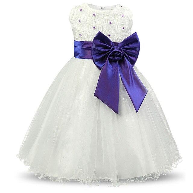 Baby Mädchen Kleid Kinder Partei Tragen Kleider Für Mädchen Kleidung ...