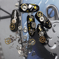1 Box Ultra-thin 3D Nail Decoration Time Wheel Steam Punk Style Metal Nail Art Decoration #HSJ12