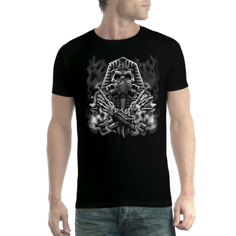 Punctual Egyptian Pharaoh Gas Mask Smoke Men T-shirt Xs-5xl Cheap Sales 50% Back To Search Resultsmen's Clothing