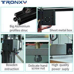 Image 5 - Tronxyビッグdiy 3Dプリンタサイクロプス2で1アウトダブルカラー押出機熱ベッドタッチスクリーン大サイズ500*500*600ミリメートルX5SA 500 2E