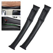 DWCX 2pcs Leather Seat Gap Pad Space Filler fit All Truck Cars for BMW Ford Audi Mercedes Hyundai Kia Toyota Honda Nissan Mazda