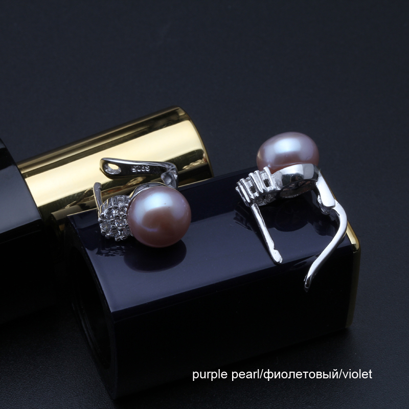 925 sterling silver earrings with pearl real black natural freshwater earrings pearl women clip on earrings 925 sterling silver earrings with pearl,real black natural freshwater earrings pearl women,clip on earrings