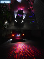 Car Styling Car Angel Wings lights LED welcome Projector Light for Opel Mokka zafira corsa astra insignia vectra Accessories