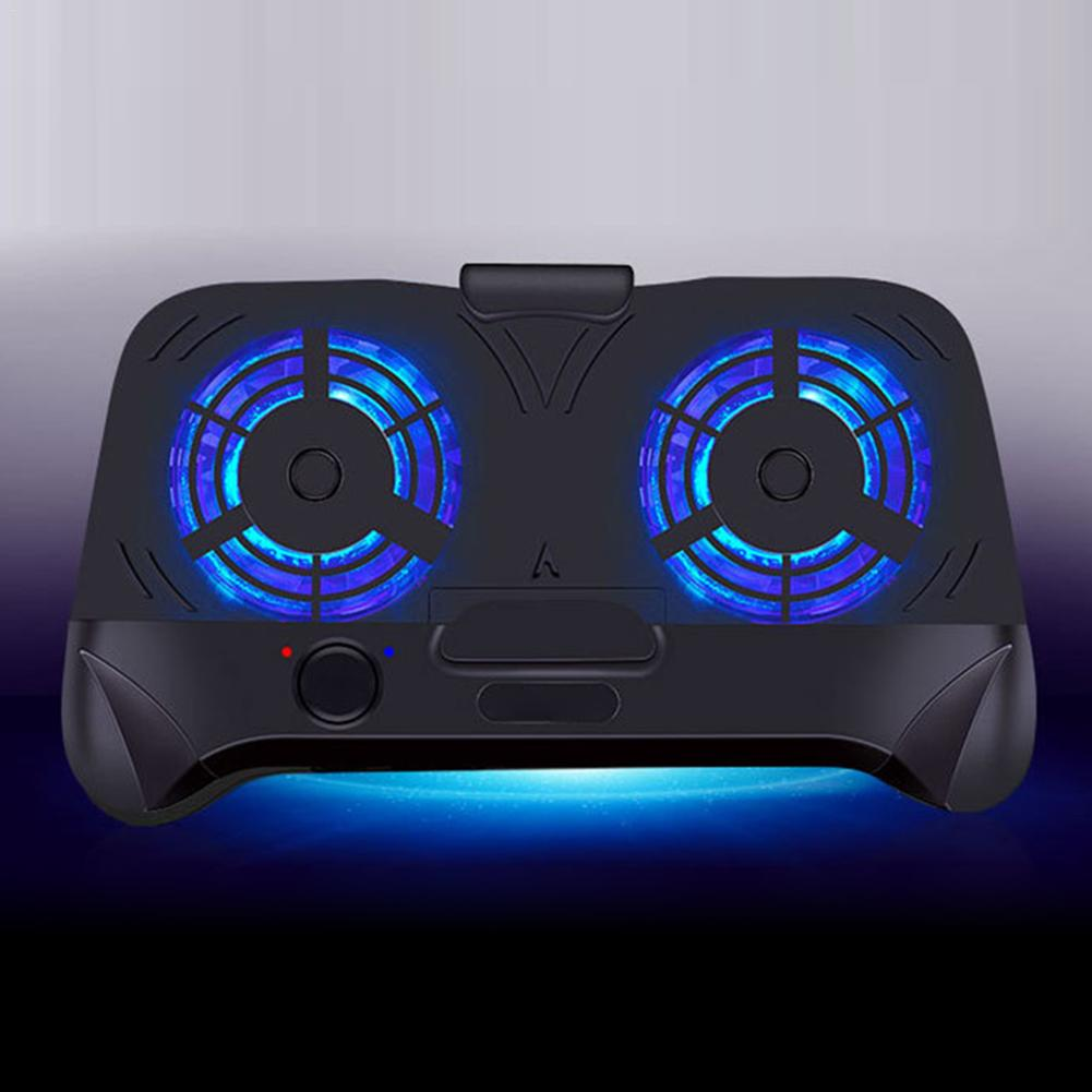 Two Large Fans For Cooling External Battery Charging NEW Multi-functional Phone Cooler Mobile Phone Pubg Gamepad Game Controller