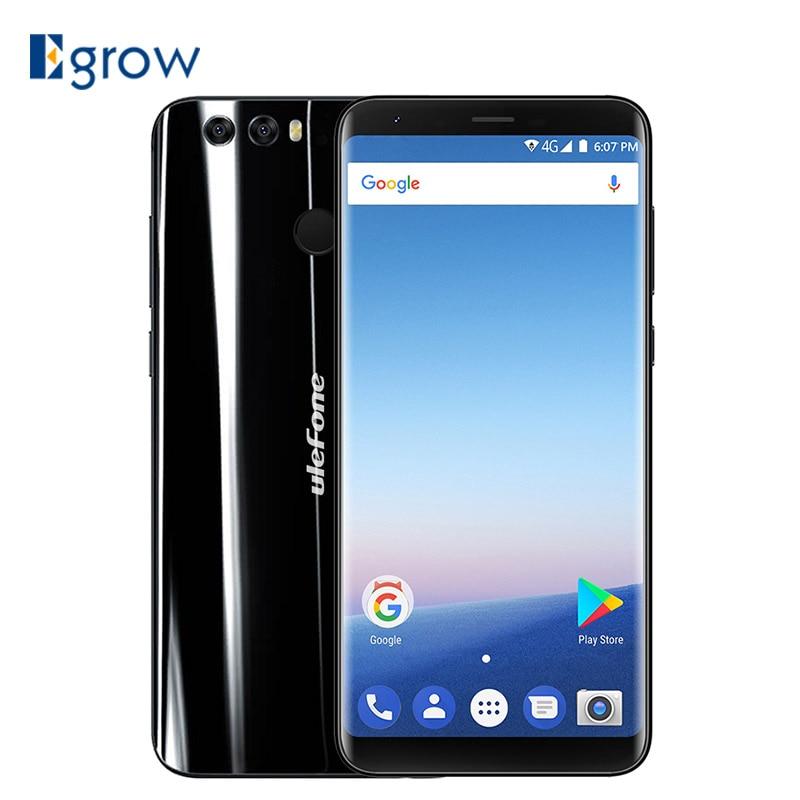 Original Ulefone MIX 2 MTK MT6737H Quad Core Android7.0 Mobile Phone 5.7Inch 3300mAh Cell Phone 2G RAM 16G ROM Unlock Smartphone