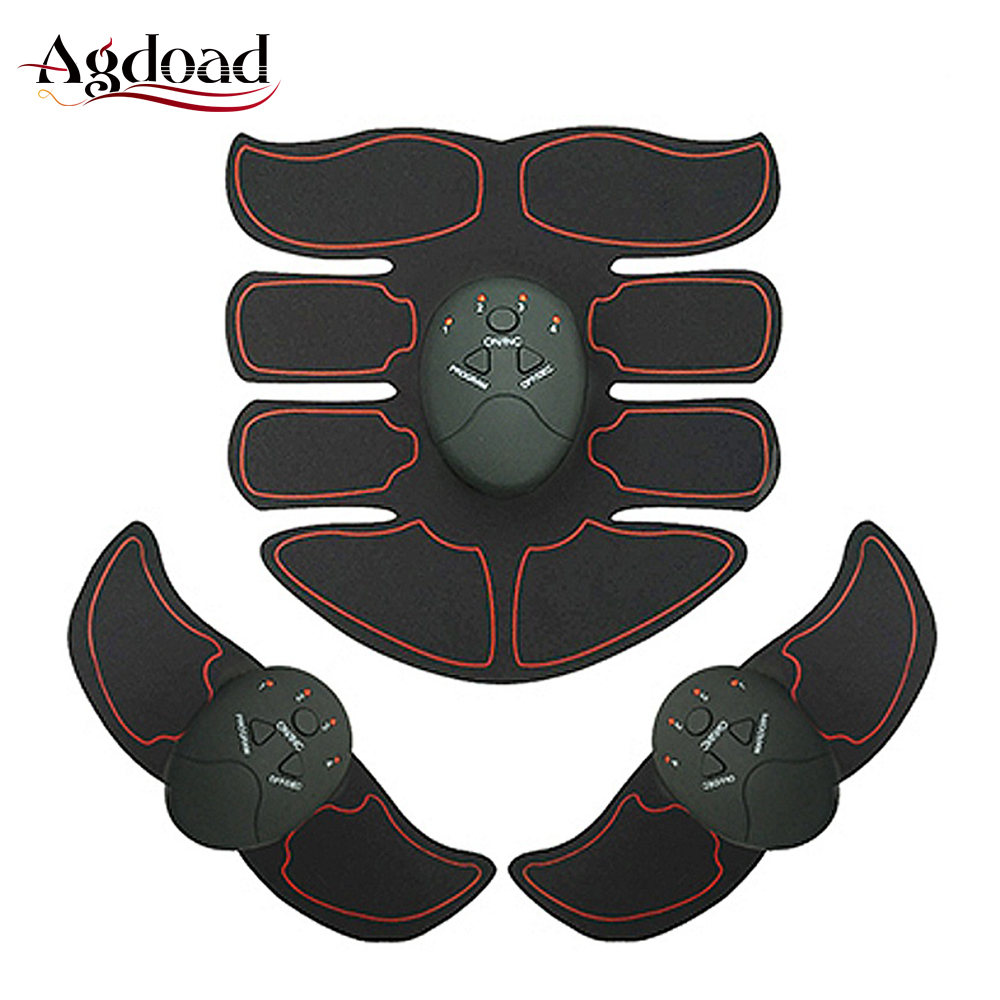 Upgrade Version EMS Abdominal Muscle Trainer ABS Simulator Smart Fitness Body Massager EMS Trainer with Box Packing