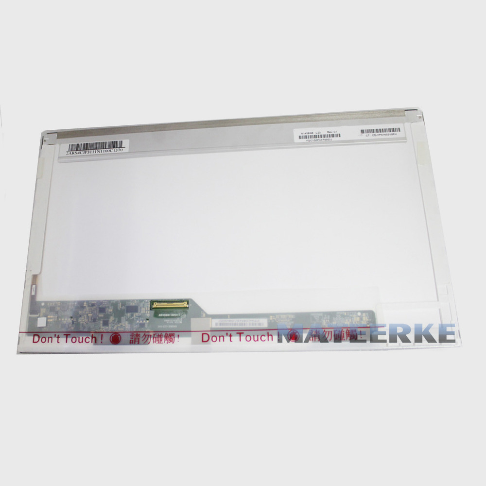 Free Shipping 14.0 laptop screen N140BGE-L21 B140XW01 LP140WH4 LTN140AT16 LP140WH1 BT140GW01 HSD140PHW1 HB N140B6-L02 LTN140AT02 tested 14 0 laptop led lcd screen hsd140phw1 ht140wxb hb140wx1 n140b6 l02 l01 l08 lp140wh4 n140bge l11 12 21 22 23 bt140gw01