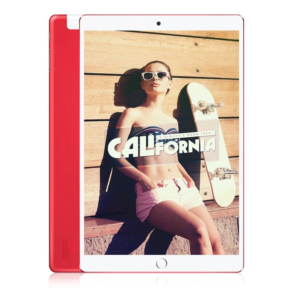Livraison gratuite 10 pouces Android 7.0 Octa Core 4 GB/32 GB 5.0MP + 12MP Bluetooth WIFI 4G LTE téléphone tablettes tablette PC BDF