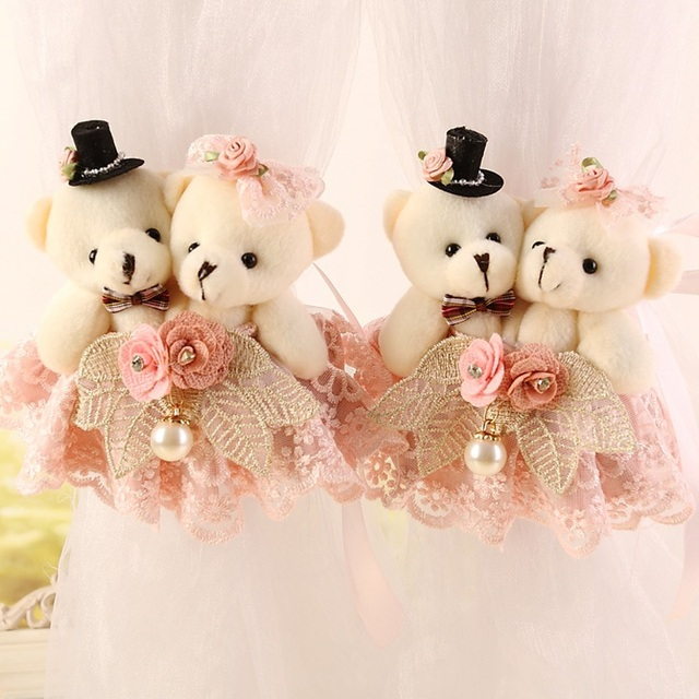 f8f16182ead Fashion Baby Toy Cartoon Bear Curtain Buckle Strap Curtain Curtain Wedding  Pair Holder Buckle Bearcurtain Tieback Hook cp065 15