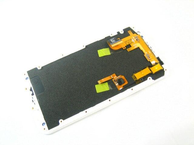 Замена Полный ЖК-Дисплей + Сенсорный Экран Digitizer + Рамка для Motorola Moto X 2 2nd Gen 2014 XT1092 XT1094 XT1095 Белый