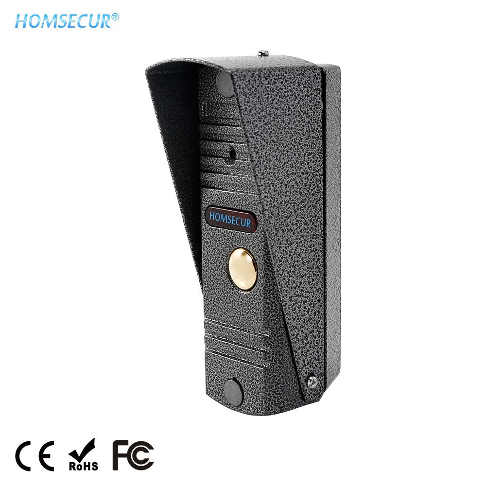 HOMSECUR 1.3MP BC011HD-S Waterproof Outdoor Camera Unit IP65 CMOS IR Night Vision for HDK Series Video Door Intercom System