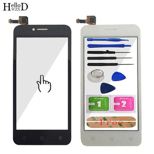 Image 2 - 4,5 Handy Touch Glas Für Lenovo Vibe B A2016a40 A2016 Touchscreen Glas Digitizer bereich Objektiv Sensor Werkzeuge klebstoff