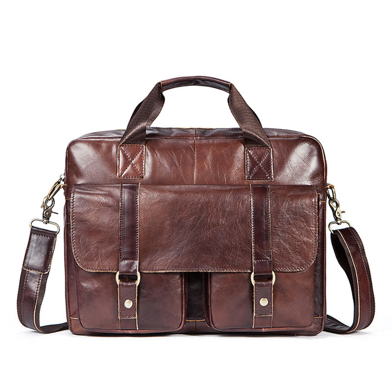 Unique Three-dimensional Personality Design Cow Leather Men Briefcase Fashion Large Capacity Multifunctional Retro Men HandbagsUnique Three-dimensional Personality Design Cow Leather Men Briefcase Fashion Large Capacity Multifunctional Retro Men Handbags