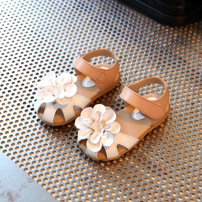 Girls Summer Princess Flower Sandals 2