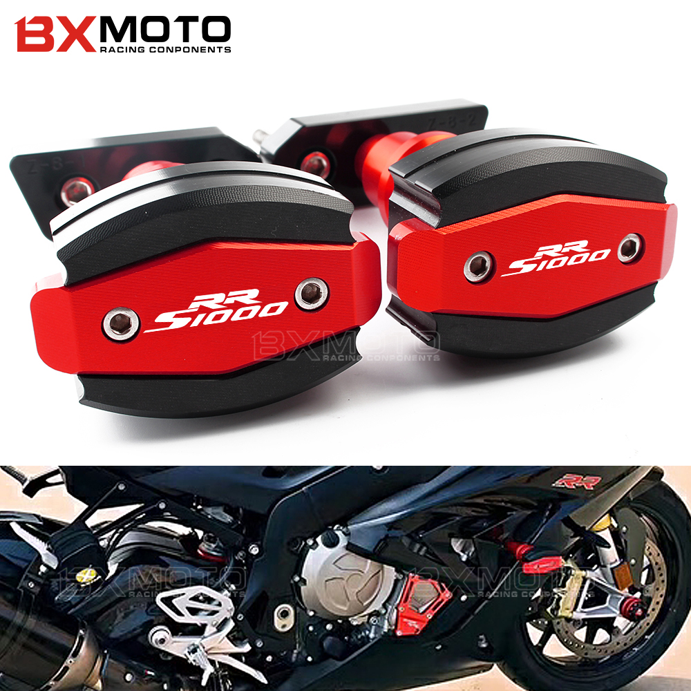 CNC Aluminium Motorcycle Falling Protection For BMW S1000RR S 1000 RR 10-15 Frame Slider Fairing Guard Anti Crash Pad Protector