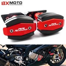 CNC Aluminium Moto Protection Contre Les Chutes Pour BMW S1000RR S 1000 RR 10-15 Cadre Curseur Carénage Garde Anti Crash Pad Protecteur