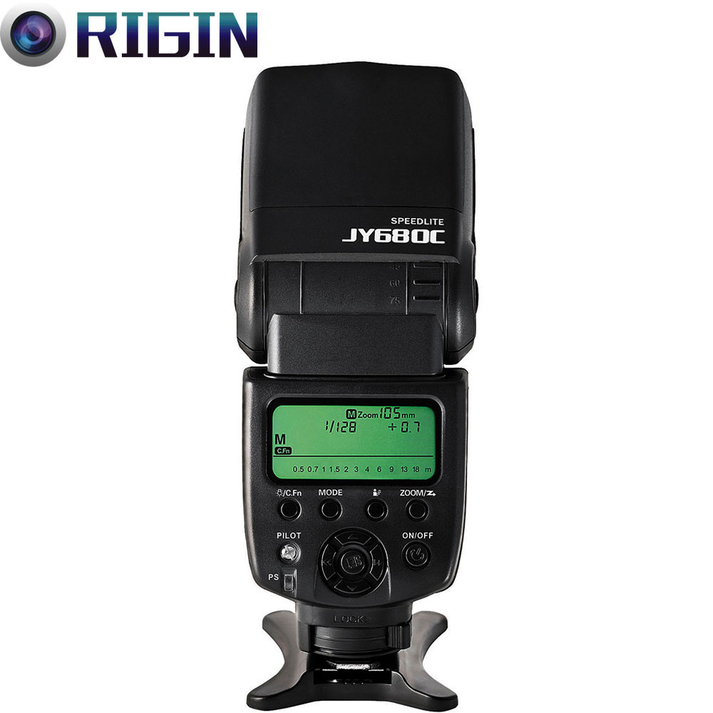 Viltrox high-quality JY-680C GN58 Speedlite TTL Camera flash with LCD Screen Support For Canon For 1200D/760D/750D/700D/600D,etcViltrox high-quality JY-680C GN58 Speedlite TTL Camera flash with LCD Screen Support For Canon For 1200D/760D/750D/700D/600D,etc