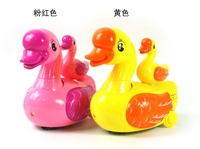 Child Baby Educational Electric Toy Car Universal Light Music Light Projection Joy Goose Children S Day