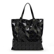 2016 handtaschen frauen taschen designer-handtaschen hohe qualität PVC geometrische große kapazität frauen handtaschen weibliche beutel
