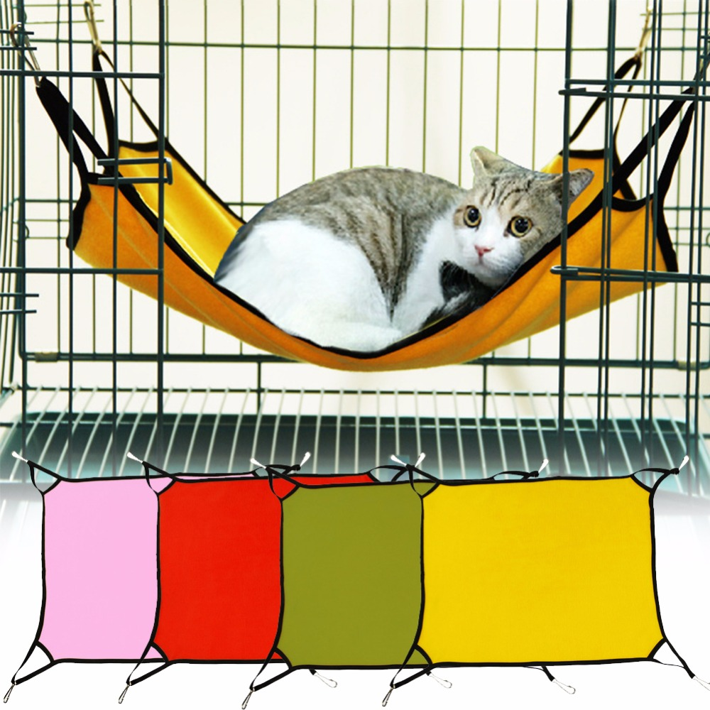 Indoor hammock bed - Aliexpress Com Buy Portable Load Bearing Pet Sleeping Hammock Cat Dog Indoor Hammock Hang Bed Travel Camping Swing Hammock A2 From Reliable Hammock Pads
