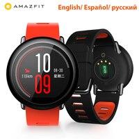 Английская версия Сяо mi Amazfit Bip Смарт часы Хуа mi бит темп Lite IP68 Водонепроницаемый gps Gloness спортивные сердечного Gloness браслет