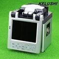 KELUSHI SM y MM Automática Máquina De Fusión De Fibra Óptica Splicer FTTH Fibra Óptica de Empalme Máquina de Soldar Con Cuchilla De la Fibra