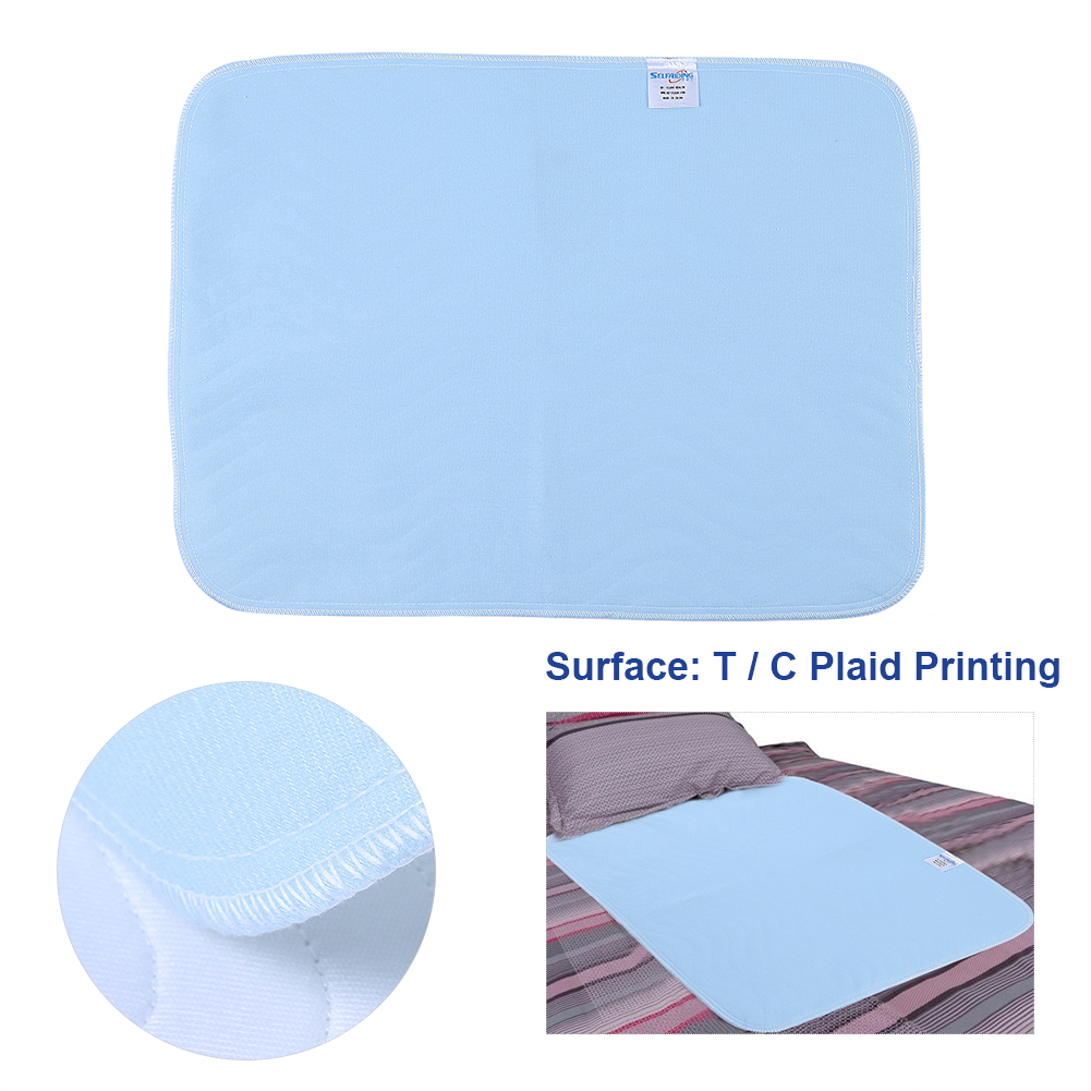 2pcs Reusable Washable Pad An Absorbent Pad For Adults Incontinence Pad 45 * 60 Adult Incontinence Nappy Liner Diaper Insert