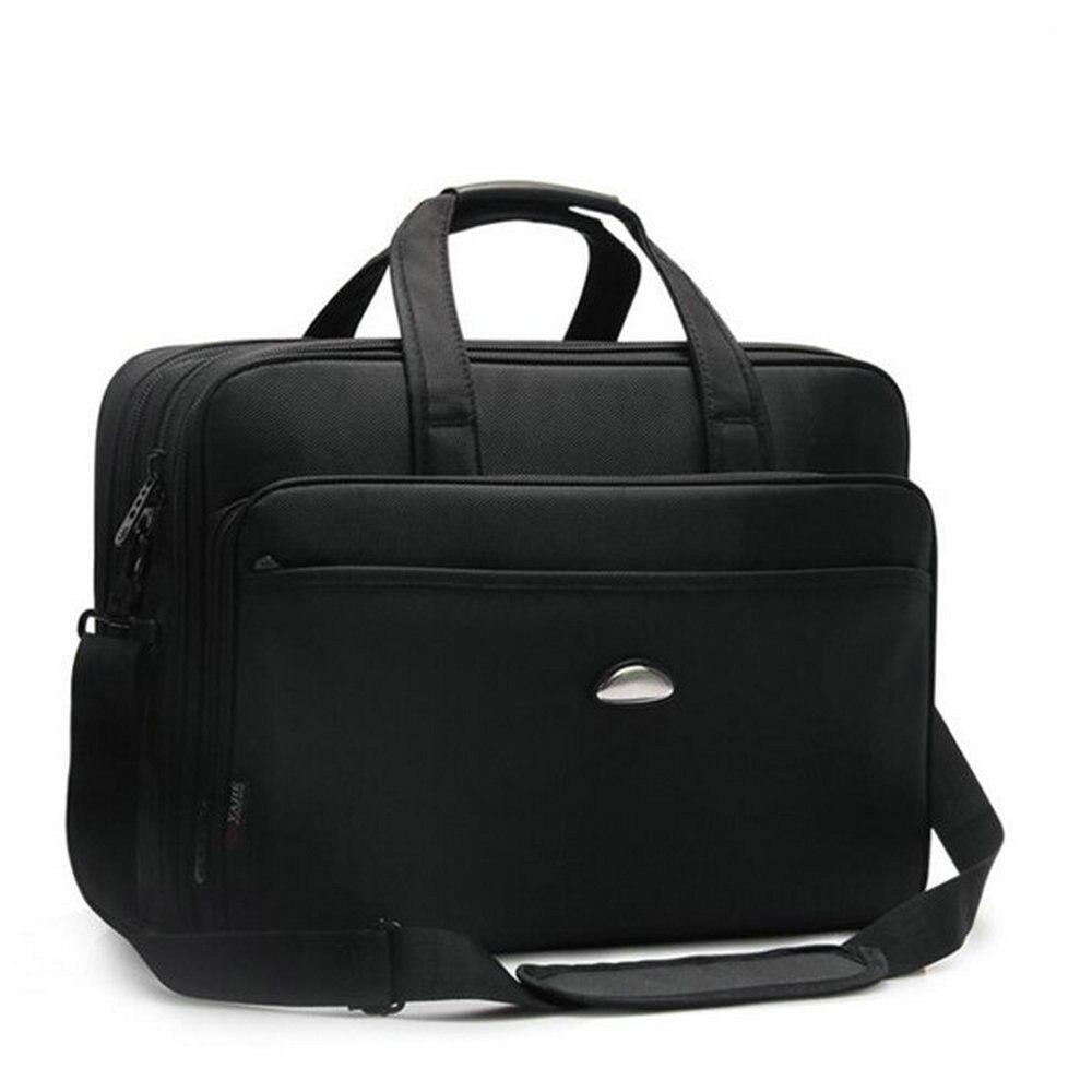 Laptop Handbag Inched Briefcase Shoulder-Bag 17 Multi-Function Male Men High-Quality
