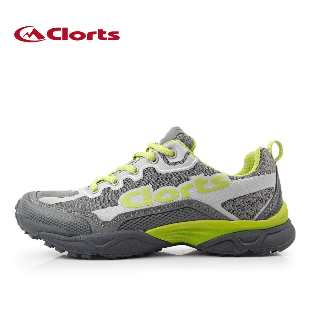 Clorts Brand Running Shoes Men Sport Trail Shoes Light Athletic BOA Shoes PU Mesh Outdoor Shoes For Men Sneakers 3F010B/C/F peak sport men outdoor bas basketball shoes medium cut breathable comfortable revolve tech sneakers athletic training boots