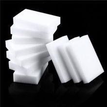 Éponge magique en mélamine, 100x60x10mm, 100 pièces, gomme haute densité, nettoyant domestique, pour la vaisselle et la cuisine