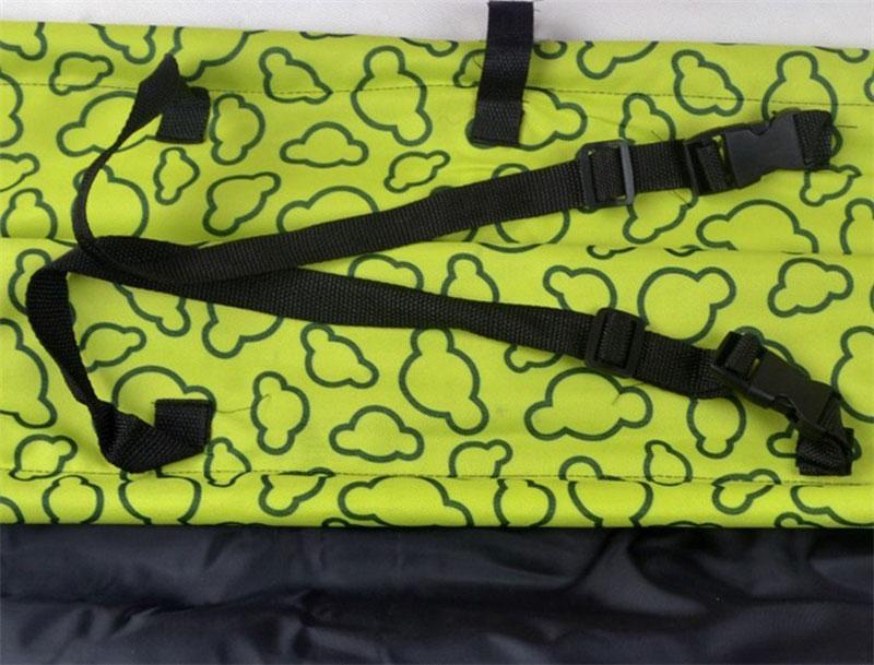 CAWAYI KENNEL PVC Waterproof Small Pet Dog Cat Car Seat Cover Mat Blanket Rear Back Dog Car Seat Protection Hammock D0041 13