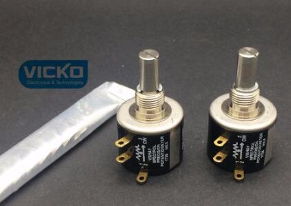 Vishay spectrol d'origine UK MOD534 534-1 | 534 précision, multi-tour, potentiomètre à boucles 10 tours, commutateur 1K 2K 5K 10K