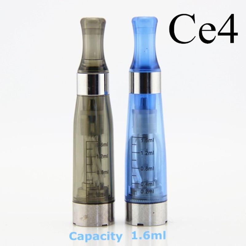 5 pcs/lot sous deux E Cigarette EGo Ce4 Kit de démarrage avec 1.6 Ml réservoir Ego batterie fermeture à glissière étui Ego Ce4 Vape Kit Kit de vaporisateur - 3
