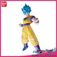 Genuine BANDAI SPIRITS Figure rise Standard Assembly Dragon Ball Super Broly SSGSS Son Goku Special Color Plastic Action Figure