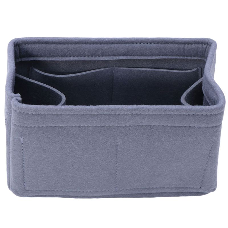 Premium Quality Felt Insert Bag Organizer Travel Inner Purse Portable Cosmetic Bags Storage Tote Makeup Handbag