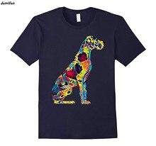 Great Dane T-Shirt Grande Cão de Estimação de Corpo Inteiro Relaxando Verdadeiro Amigo harajuku streetwear dos homens o-pescoço de algodão de manga curta camisa legal tees